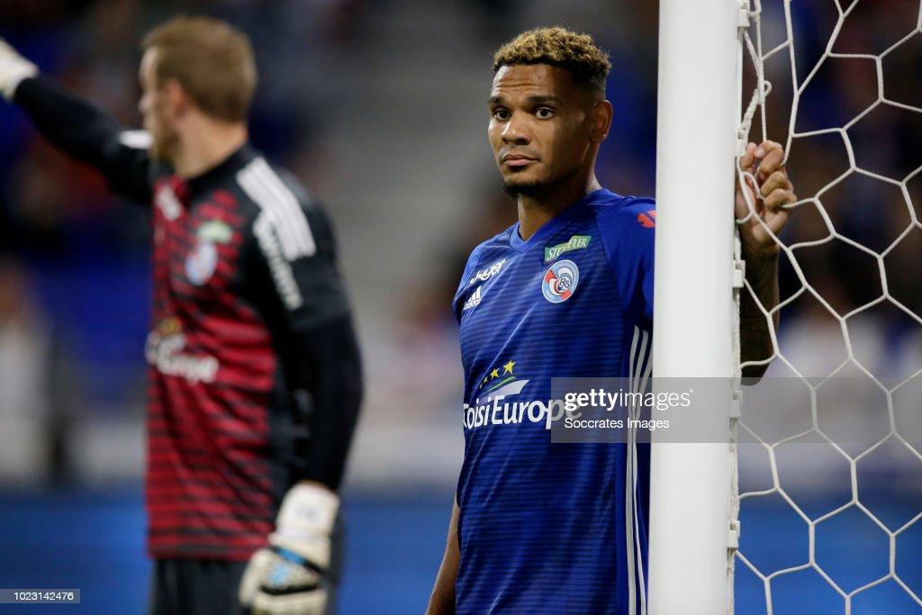 Olympique Lyon v Strasbourg - French League 1 : Photo d'actualité