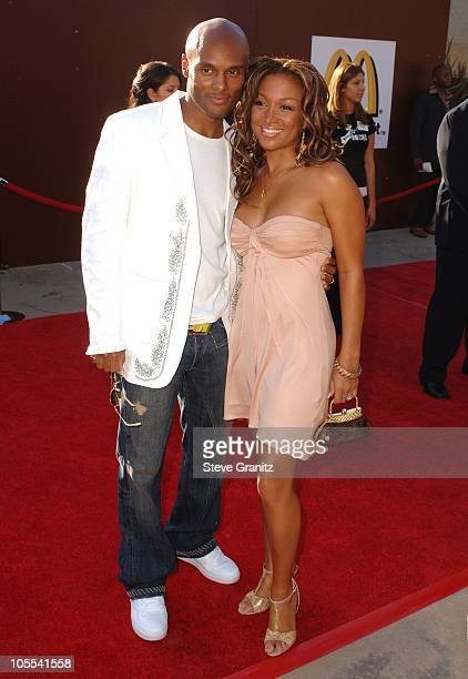 Kenny Lattimore and Chante Moore during 10th Annual Soul Train Lady of Soul Awards Arrivals at Pasadena Civic Auditorium in Pasadena California...