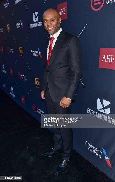 Kenny Lattimore attends Byron Allen Honored by Los Angeles Urban League on April 18 2019 in Hollywood California