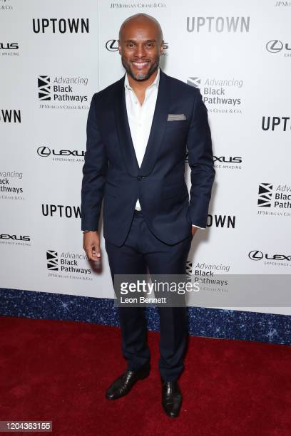 Kenny Lattimore attends Lexus Uptown Honors Hollywood at Neue House Hollywood on February 05 2020 in Los Angeles California