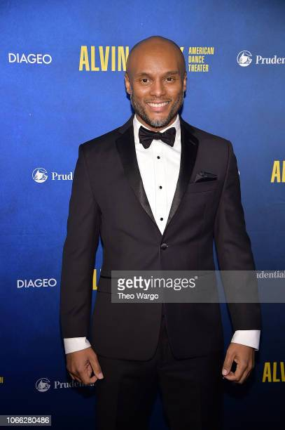 Kenny Lattimore attends the Alvin Ailey American Dance Theater's 60th Anniversary Opening Night Gala Benefit at New York City Center on November 28...