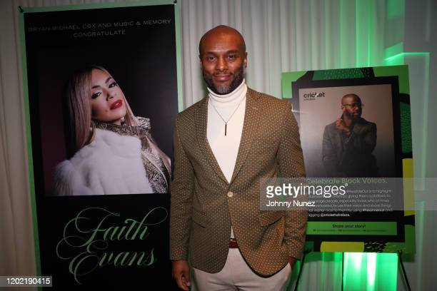 Kenny Lattimore attends the Bryan Michael Cox 16th Annual Music And Memory PreGrammy Brunch 2020 at SLS Hotel on January 26 2020 in Beverly Hills...