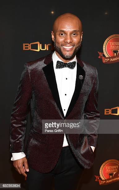 Kenny Lattimore backstage at 25th Annual Trumpet Awards at Cobb Energy Performing Arts Center on January 21 2017 in Atlanta Georgia