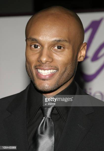 Kenny Lattimore during Carl Anderson Benefit Concert at Agape International Spiritual Center in Culver City California United States