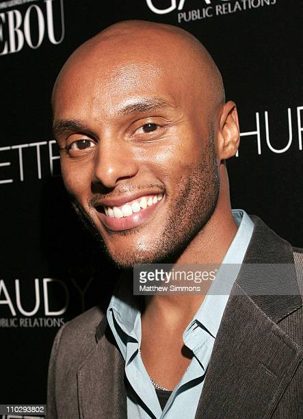 Kenny Lattimore during Gaudy PR Presents a Celebration for TREBOU and the Birthday of Yvette Noel Schure at Private Residence in Los Angeles...