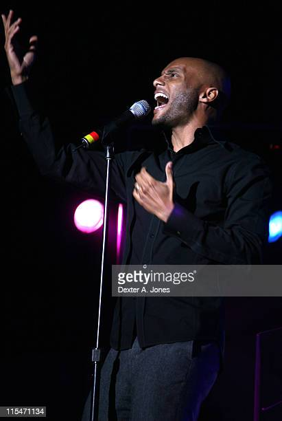 Kenny Lattimore during The Fred Hammond Tour featuring Chante' Moore and Kenny Lattimore April 15 2007 at First Cathedral Church in Windsor...