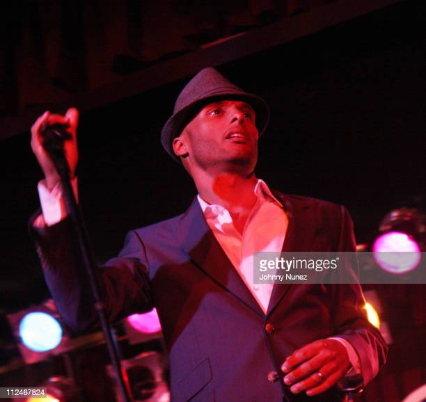 Kenny Lattimore performs at BB King's on November 18 2008 in New York City