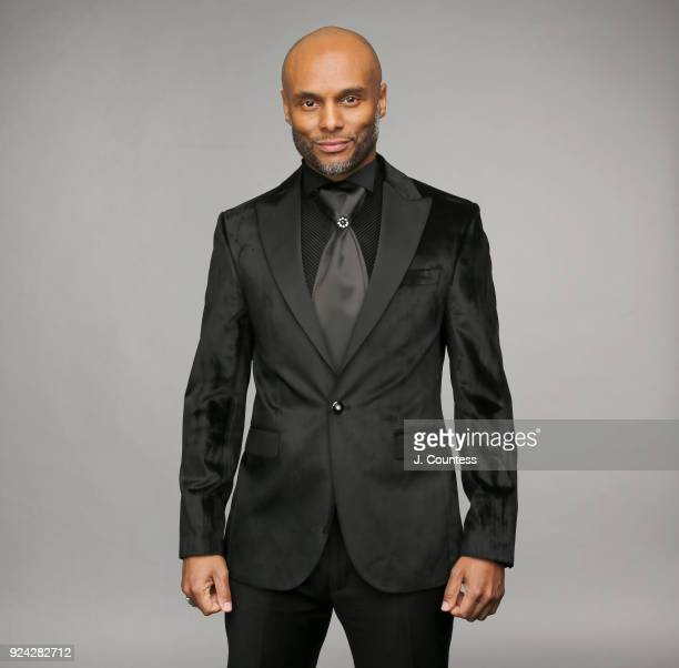 Kenny Lattimore poses for a portrait during the 2018 American Black Film Festival Honors Awards at The Beverly Hilton Hotel on February 25 2018 in...