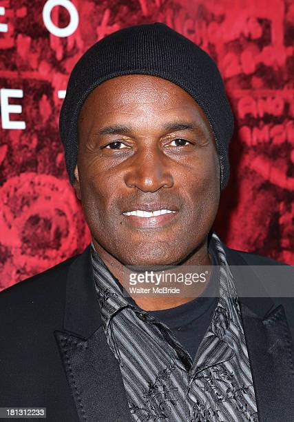 Kenny Leon attends the Romeo And Juliet Broadway Opening Night at Richard Rodgers Theatre on September 19 2013 in New York City