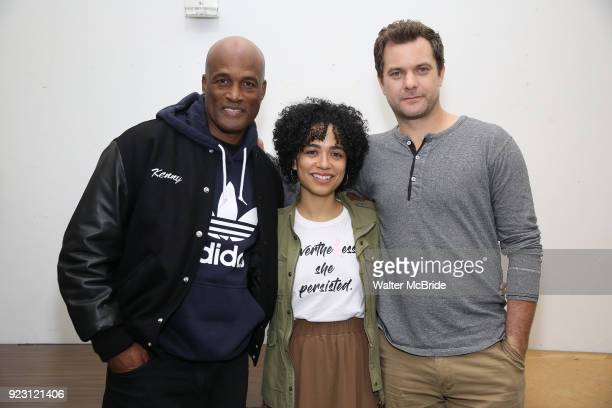 NEW Kenny Leon Lauren Ridloff and Joshua Jackson attend the first rehearsal and cast photo call for the Broadway Revival of 'Children of a Lesser...
