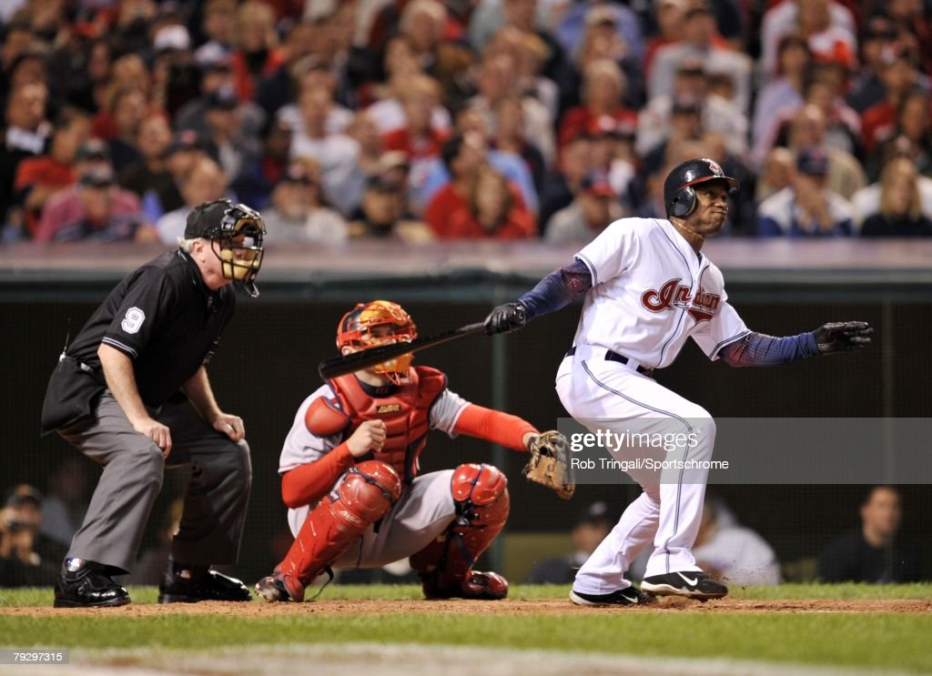 ALCS: Boston Red Sox v Cleveland Indians, Game 3 : News Photo