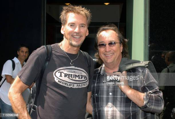 Kenny Loggins and Jim Messina during Kenny Loggins and Jim Messina Perform on 'Good Morning America' June 14 2005 in New York City New York United...