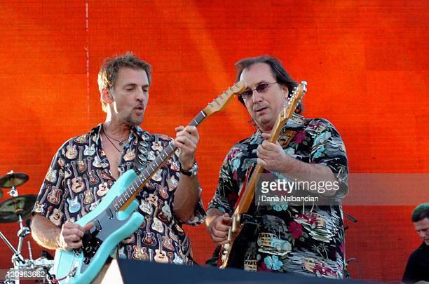 Kenny Loggins and Jim Messina during Loggins and Messina in Concert in Seattle June 25 2005 in Seattle Washington