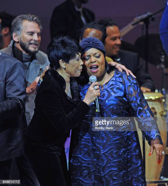 Kenny Loggins Betty LaVette and Sarah Dash perform at The Music Of Aretha Franklin show at Carnegie Hall on March 6 2017 in New York City