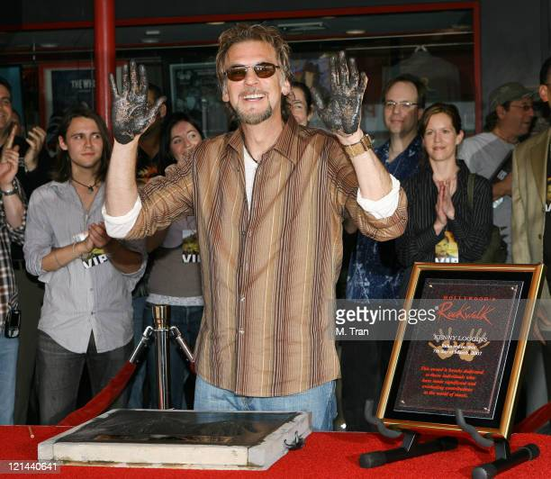 Kenny Loggins during Kenny Loggins Inducted Into Hollywood's RockWalk at Hollywood's RockWalk in Hollywood California United States