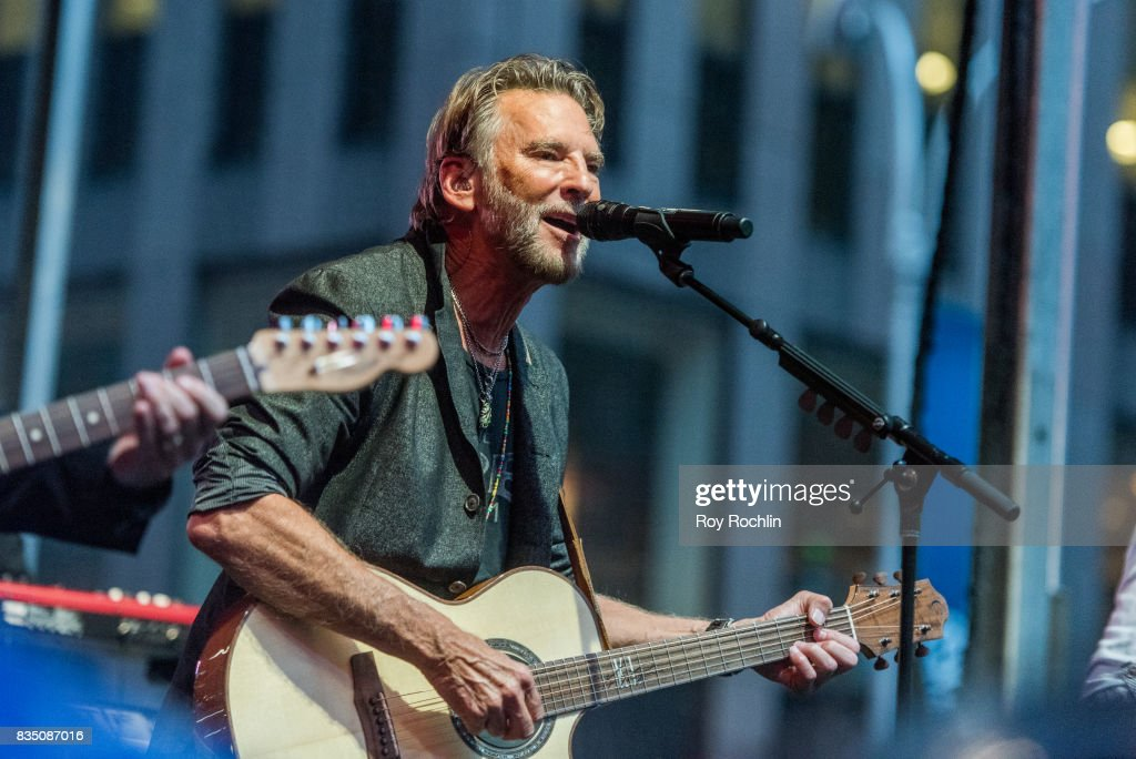 Kenny Loggins performs on Fox & Friends' All-American Summer Concert Series at FOX Studios on August 18, 2017 in New York City.