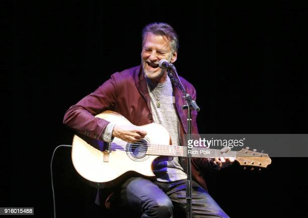 Kenny Loggins performs onstage during the 8th Annual Guild of Music Supervisors Awards at The Theatre at Ace Hotel on February 8 2018 in Los Angeles...