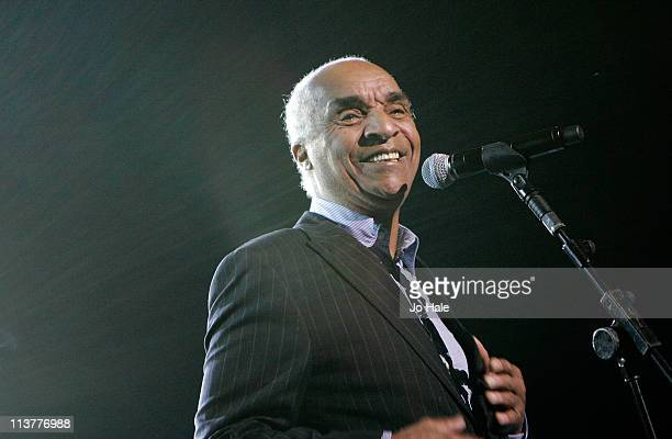 Kenny Lynch of The Drifters performs for DustyA Tribute at Royal Albert Hall on May 5 2011 in London England