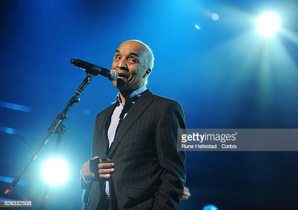 Kenny Lynch performs at For DustyA Tribute concert at Royal Albert Hall