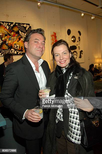 Kenny Maxwell and Lucia Debrilli attend Carlo von Zeitschel Hosts the Opening of JOHN HUNG HA NEW WORKS at CVZ Contemporary Gallery on March 21, 2007...