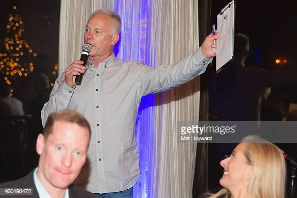 Kenny Mayne speaks during the FAM 1st FAMILY FOUNDATION Charity Event at The Edgewater Hotel on December 14 2014 in Seattle Washington