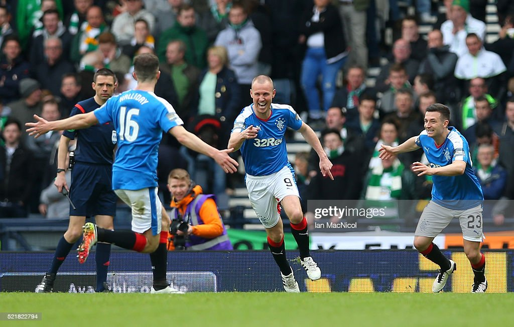 Rangers v Celtic - William Hill Scottish Cup Semi Final : News Photo