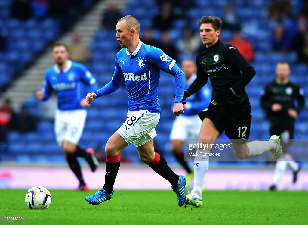 Rangers v Raith Rovers - The William Hill Scottish Cup Fifth Round : News Photo