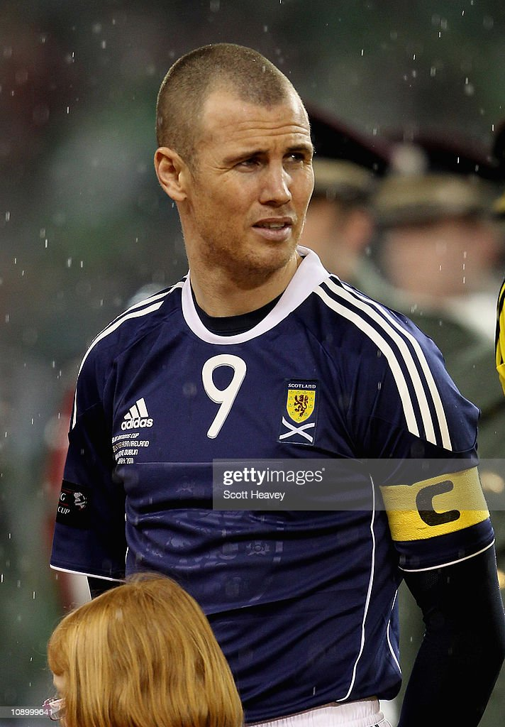 Kenny Miller of Scotland during the Carling Nations Cup match between Northern Ireland and Scotland at the Aviva Stadium on February 9, 2011 in Dublin, Ireland.