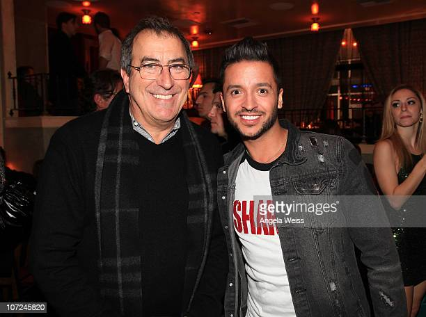 Kenny Ortega and Jai Rodriguez attend the opening night of 'West Side Story' after party at Ivan Kane's Café on December 1 2010 in Hollywood...