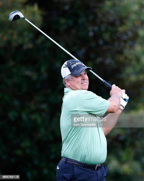 Kenny Perry during the final round of the Mitsubishi Electric Classic tournament at the TPC Sugarloaf Golf Club Sunday April 16 in Duluth GA