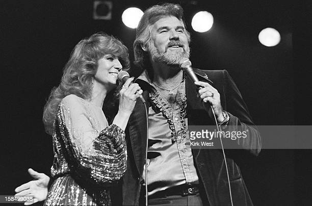 Kenny Rogers and Dottie West perform at the Civic Opera House Chicago Illinois April 1 1979