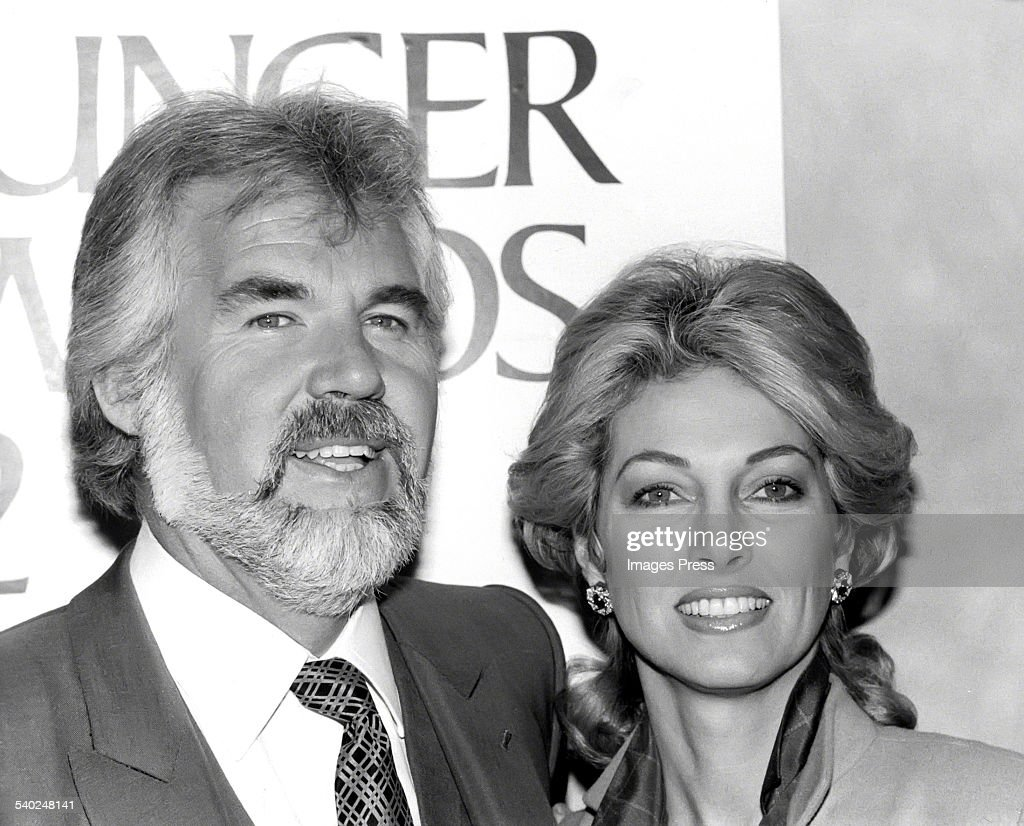 Kenny Rogers and Marianne Gordon circa 1980 in New York ...