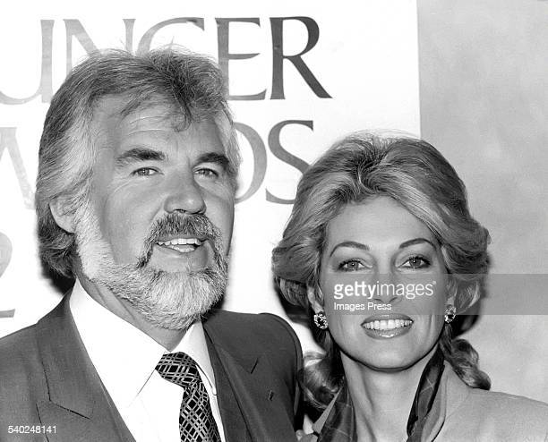 Kenny Rogers and Marianne Gordon circa 1980 in New York City