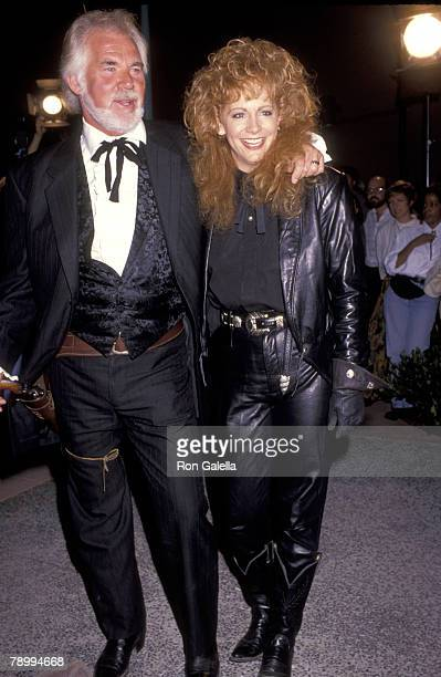 Kenny Rogers and Reba McEntire