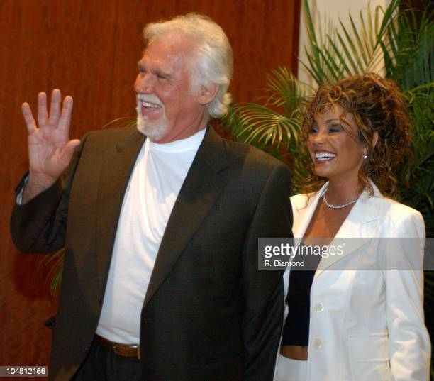 """Kenny Rogers and Wife during G-CAPP'S """"The Retro Premier"""" of 9 to 5- Live Auction at Woodruff Arts Center in Atlanta, Georgia, United States."""