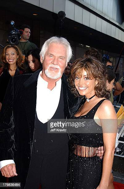 Kenny Rogers and wife Wanda Miller during Michael Jackson Tribute Celebrating 30th Anniversary of His Solo Years at Madison Square Garden in New York...