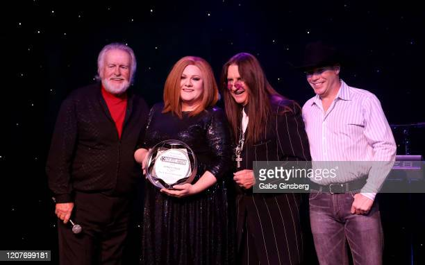 LAS Kenny Rogers impersonator Richard Hampton of Nevada Adele impersonator and recipient of the Pop N Rock for Reel award Andrea Tyler of Florida...