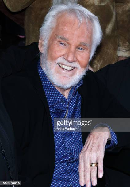 Kenny Rogers is inducted into the Nashville Music City Walk of Fame on October 24, 2017 in Nashville, Tennessee.