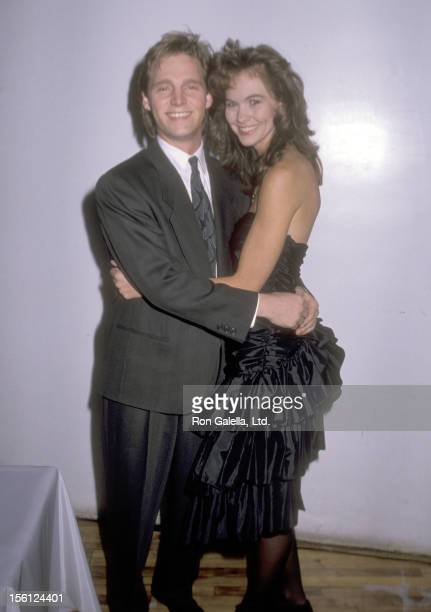 Kenny Rogers Jr and date attend the 20th Anniversary Celebration of Penthouse on December 4 1989 at Puck Building in New York City New York