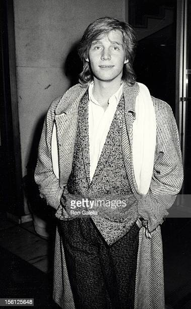 Kenny Rogers Jr attending 'Hands Across America Launch Gala' on February 13 1986 at the Century Plaza Hotel in Century City California