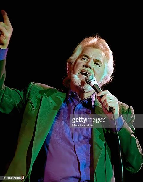 Kenny Rogers live during the 50th anniversary show from the studios of Voice of America Washington DC March 21 1992 n