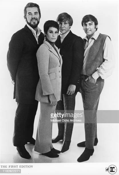 Kenny Rogers Mike Settle Thelma Camacho Terry Williams of Kenny Rogers The First Edition portrait 1967