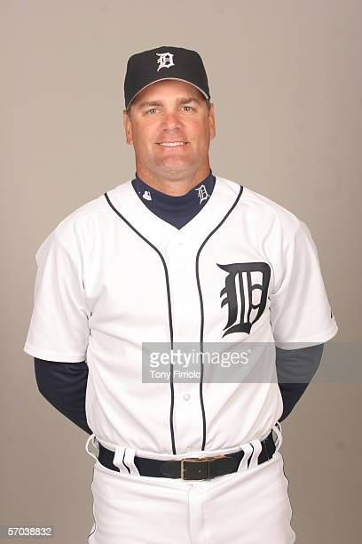 Kenny Rogers of the Detroit Tigers during photo day at Marchant Stadium on February 26 2006 in Lakeland Florida