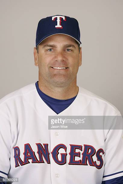 Kenny Rogers of the Texas Rangers poses for a portrait during photo day at Surprise Stadium on February 23 2005 in Surprise Arizona