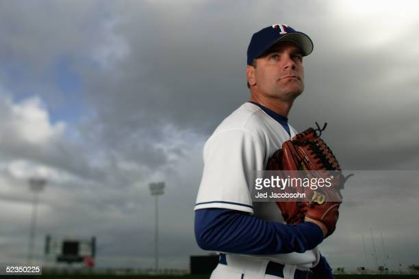 Kenny Rogers of the Texas Rangers poses for a portrait on Photo Day at spring training in Surprise, Arizona, Wednesday, February 23, 2005.