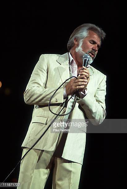 Kenny Rogers on 4/15/83 in Chicago Il