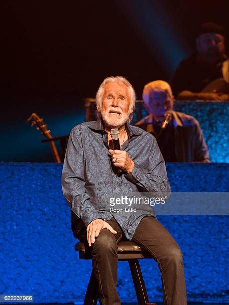 Kenny Rogers performs at London Palladium on November 10 2016 in London England
