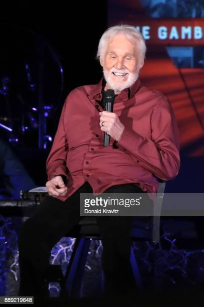 Kenny Rogers performs in concert at Golden Nugget Casino on December 9 2017 in Atlantic City New Jersey