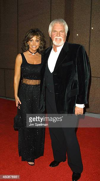 Kenny Rogers Wanda Miller during Michael Jackson's 30th Anniversary Celebration Arrivals at Madison Square Garden in New York New York United States