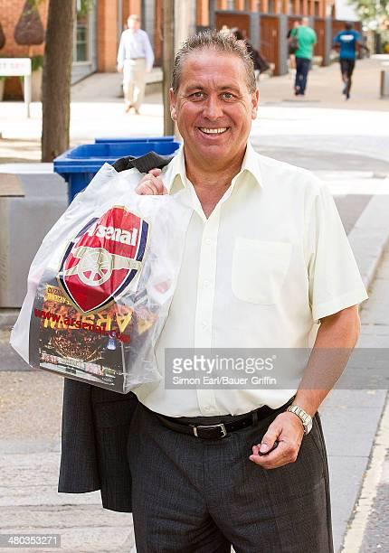 Kenny Sansom is seen on August 30 2013 in London United Kingdom